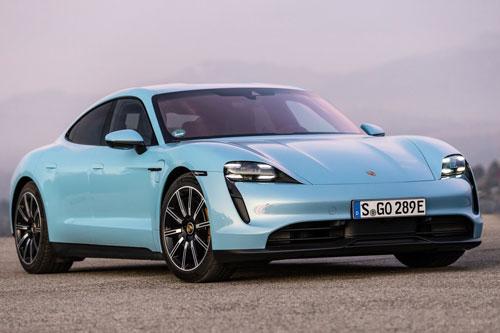 Porsche Taycan 4S: Công suất 571 mã lực, giá gần 2,6 tỷ đồng - Hình 1