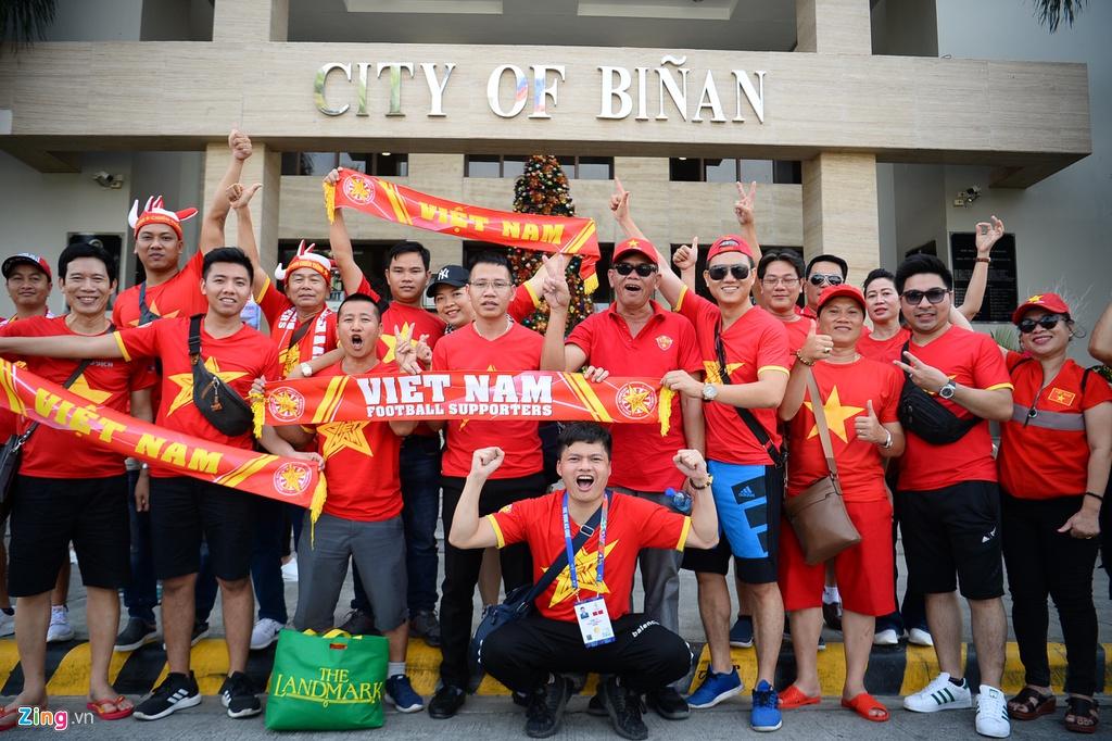 Thắt chặt an ninh trước trận đấu của U22 Việt Nam ở SEA Games - Hình 1