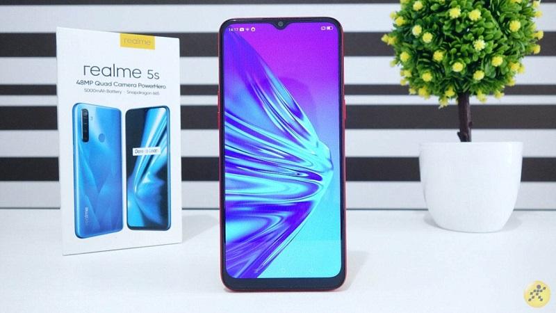 Trên tay nhanh Realme 5s tại Việt Nam: Hấp dẫn trong phân khúc giá chỉ 5 triệu! - Hình 1