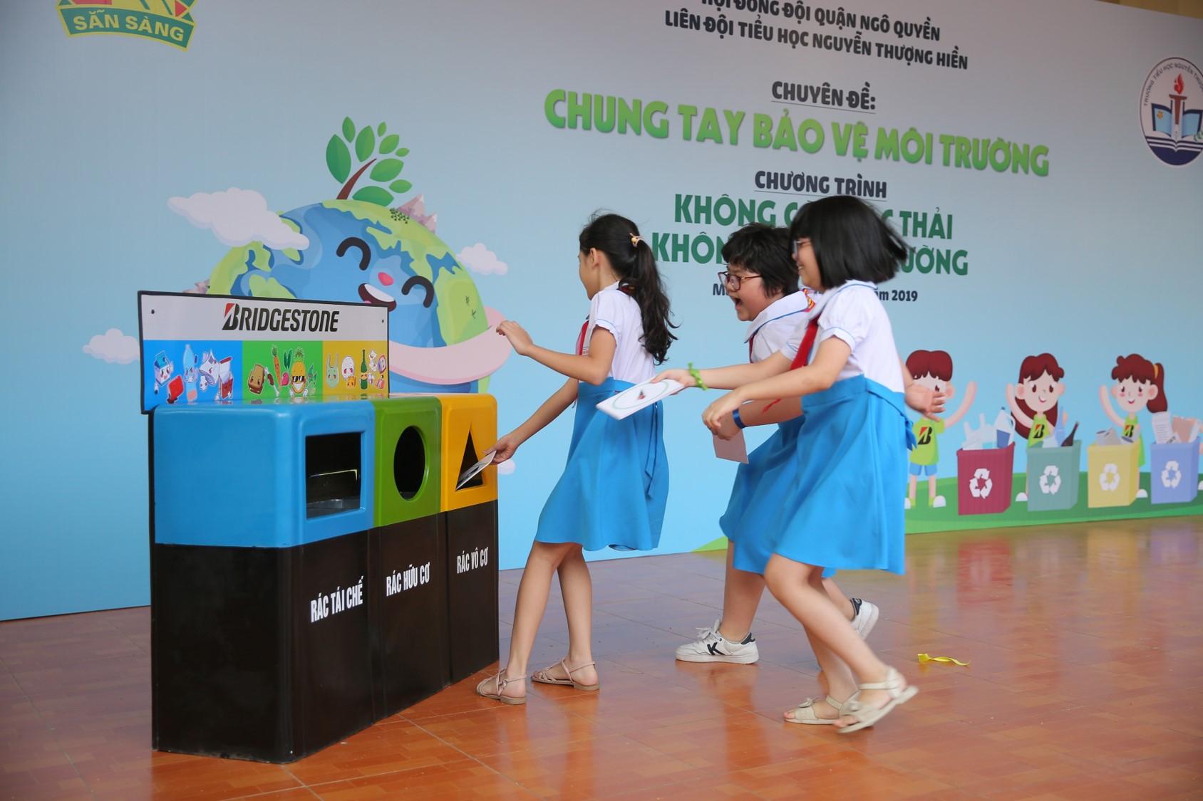 Bridgestone Việt Nam và hành trình xây dựng ý thức xanh cho trẻ em tiểu học - Hình 1