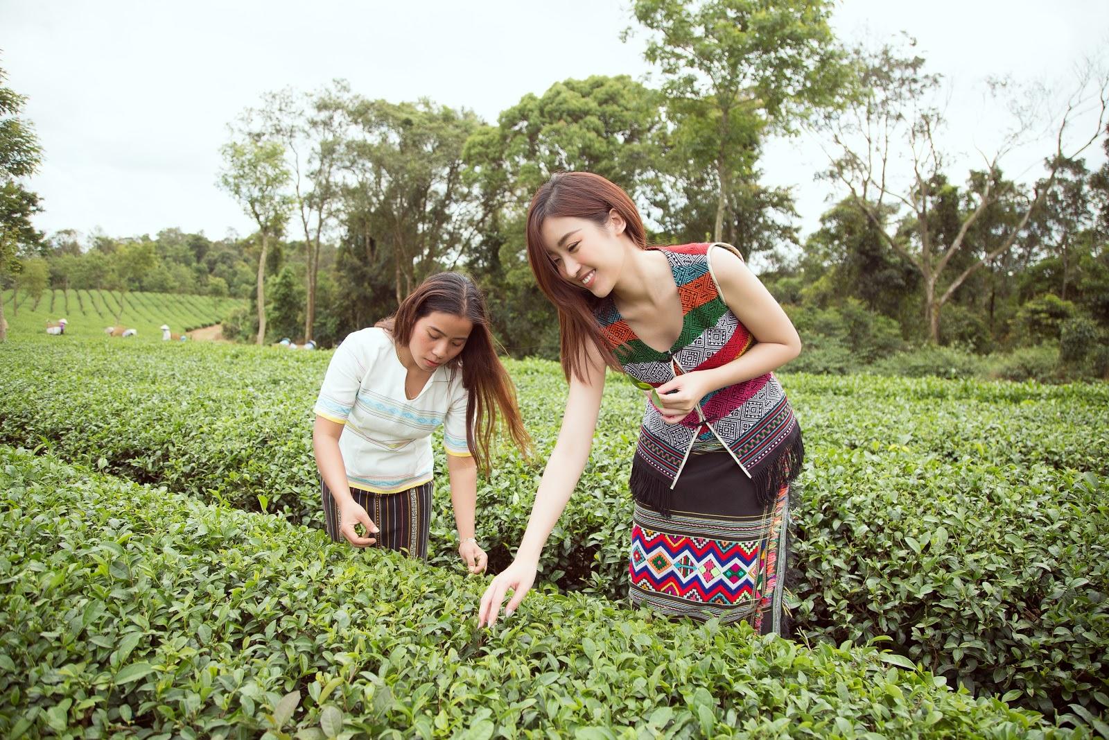 Đỗ Mỹ Linh, Kiều Loan gây thương nhớ trong hình ảnh cô thôn nữ - Hình 1