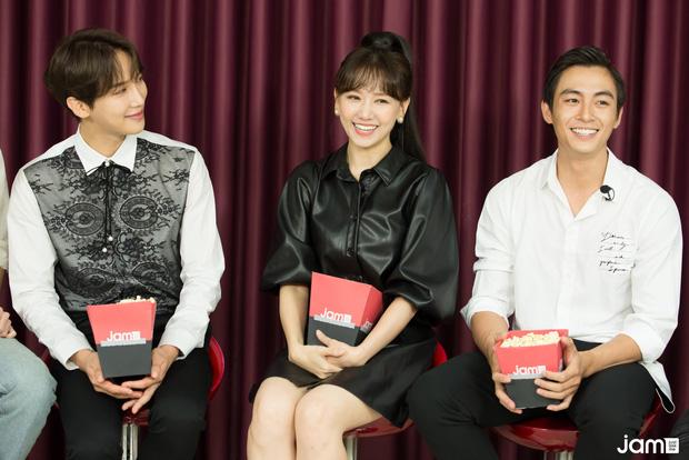 Hari Won điếng người, đỏ mặt nhìn Oppa Park Jung Min khóa môi Lãnh Thanh - Hình 1