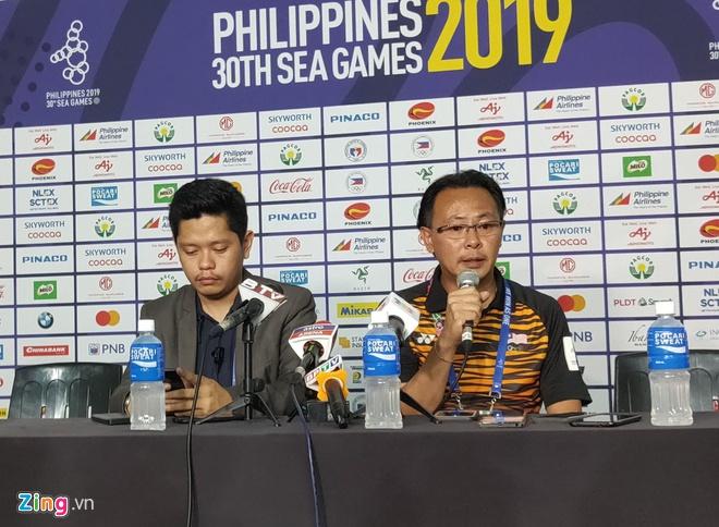 HLV Ong Kim Swee mất chức vì Malaysia bị loại từ vòng bảng SEA Games - Hình 1