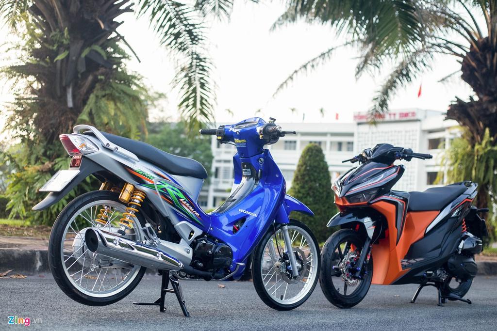 Honda Wave 125 độ đồ chơi tốn gần 100 triệu - Hình 1