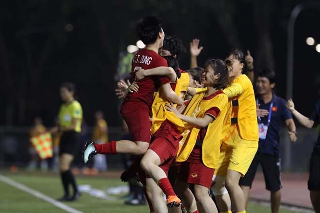 Họp báo ĐT nữ Việt Nam vào chung kết SEA Games: Đối thủ khâm phục quân thầy Chung - Hình 1