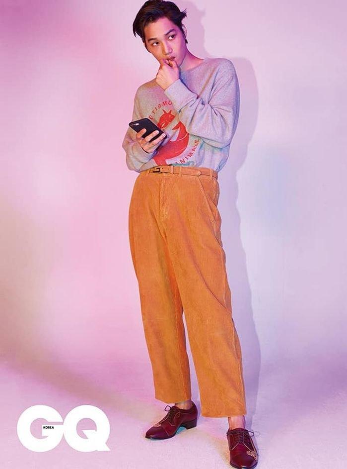 Kai (EXO) là nghệ sĩ Hàn Quốc duy nhất có tên trong danh sách những người đàn ông ăn mặc đẹp nhất năm của GQ! - Hình 1