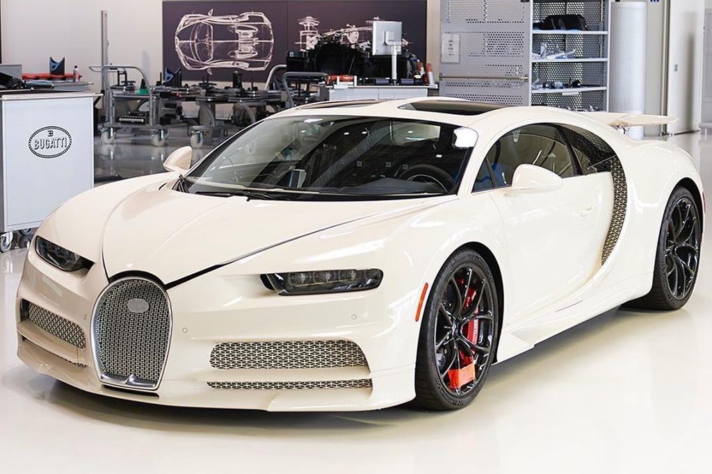 Kết hợp với Hermes, Bugatti ra mắt chiếc Chiron độc nhất thế giới - Hình 1
