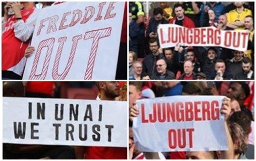 SỐC! Lật mặt như NHM Arsenal, đến sân Emirates đuổi Ljungberg và gọi Emery trở lại - Hình 1