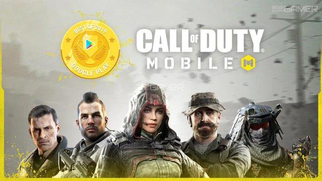 Ghẻ lạnh PUBG, Google Play bình chọn Call of Duty Mobile là trò chơi hay nhất 2019 - Hình 1