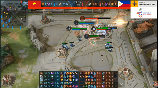 Liên Quân Mobile: Hủy diệt Phillippines và Myanmar chỉ sau 8 - 10 phút, tự hào quá Việt Nam ơi! - Hình 1