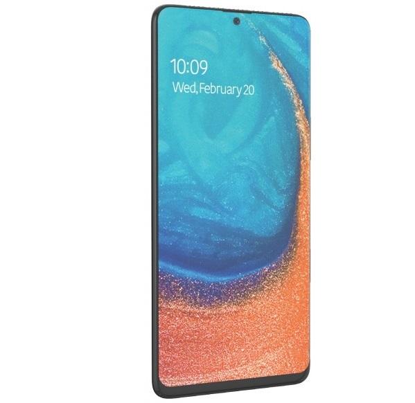 Samsung Galaxy A71 lộ ảnh render với thiết kế ấn tượng, đẹp hơn Galaxy Note 10, có thể ra mắt cùng Galaxy S11 - Hình 1