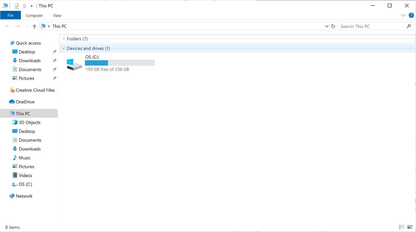 Vì Windows luôn bắt đầu từ ổ C, đây là lý do mà ổ A và B biến mất - Hình 1