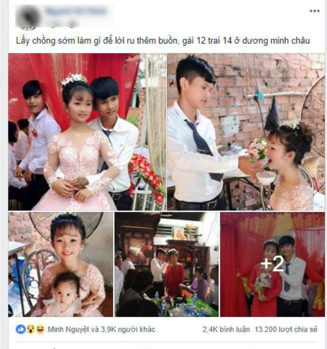 Xôn xao thông tin cặp đôi cô dâu 12, chú rể 14 từng gây bão mạng đã đường ai nấy đi sau lễ đính hôn đình đám 1 năm về trước - Hình 1
