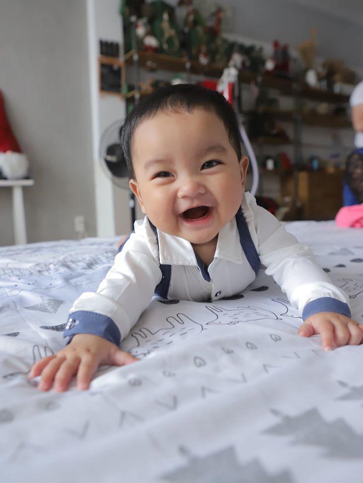 7 tháng sau sinh con thứ 3, Hải Băng lần đầu tâm sự đầy xúc động - Hình 1