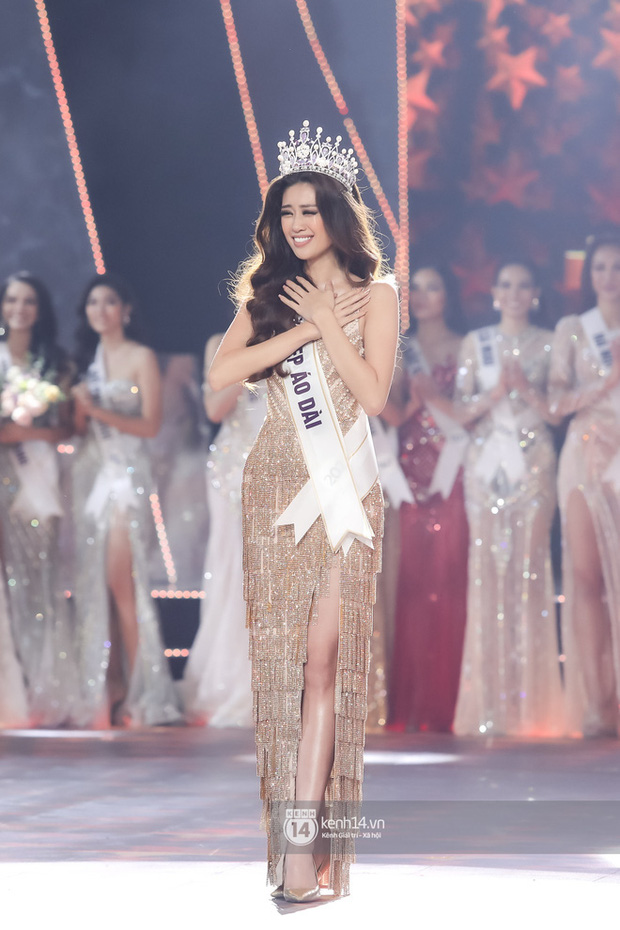 Catwalk điêu luyện nhường này, tân Hoa hậu Khánh Vân chắc chắn sẽ làm nên chuyện ở đấu trường nhan sắc quốc tế - Hình 1