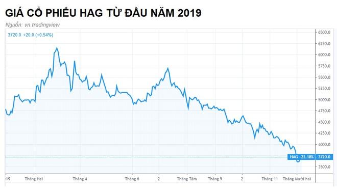Cổ phiếu công ty bầu Đức xuống vùng giá thấp nhất lịch sử - Hình 1