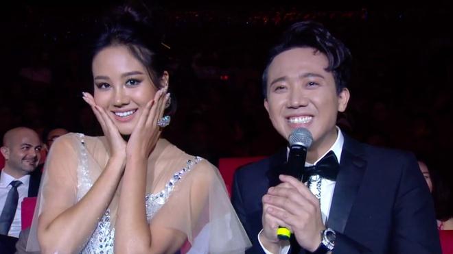 Trấn Thành ngượng khi không hiểu lời phát biểu của Hoa hậu Hàn Quốc - Hình 1