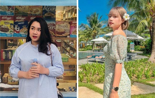 Từng bị chê bai là con mập, cô gái Hà Nội giảm gần 20kg chỉ sau một năm nhờ 7 ăn, 3 tập - Hình 1