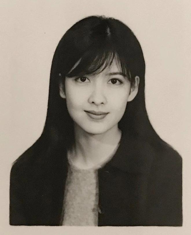 Bức ảnh thẻ tuổi 20 gây sốt ngày hôm nay: Nhan sắc ngọc nữ Châu Huệ Mẫn U55 bất biến suốt 32 năm qua - Hình 1