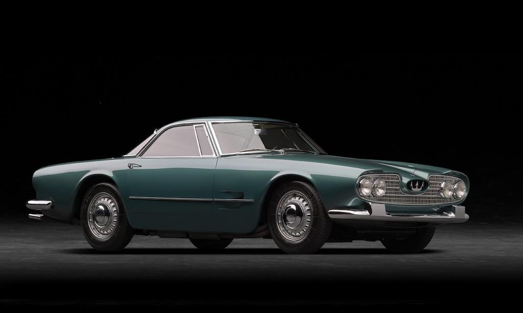 Cách đây 60 năm, chỉ dân chơi quý tộc mới được vần vô lăng siêu phẩm Maserati này! - Hình 1