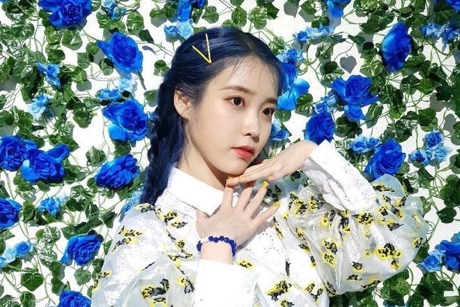 Dàn idol Hàn lăng xê màu nhuộm xanh dương - Hình 1