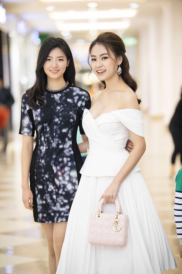 Hoa hậu Hàn Quốc 2014 hội ngộ người đẹp Ngọc Vân - Hình 5