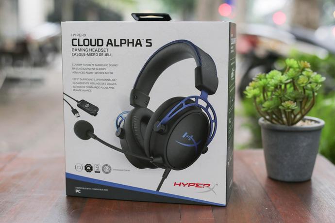 HyperX Cloud Alpha S - Tai nghe gaming xịn xò, đeo vào tự động đẹp trai - Hình 1