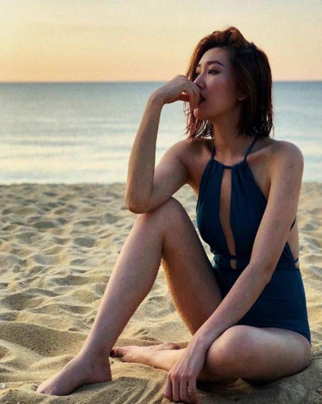 Elly Trần, Hân hoa hậu, Phan Hoàng Thu khoe dáng thon gọn sau nghỉ Tết - Hình 10