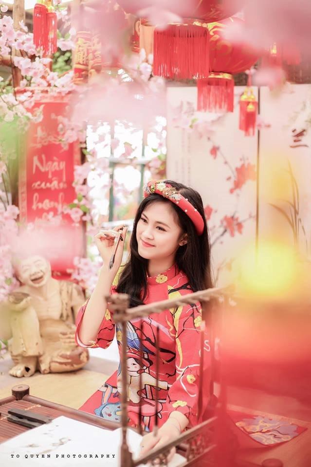 Vẻ đẹp gây thương nhớ của cô nàng 2k Phú Thọ lọt top hotgirl Thế giới - Hình 2