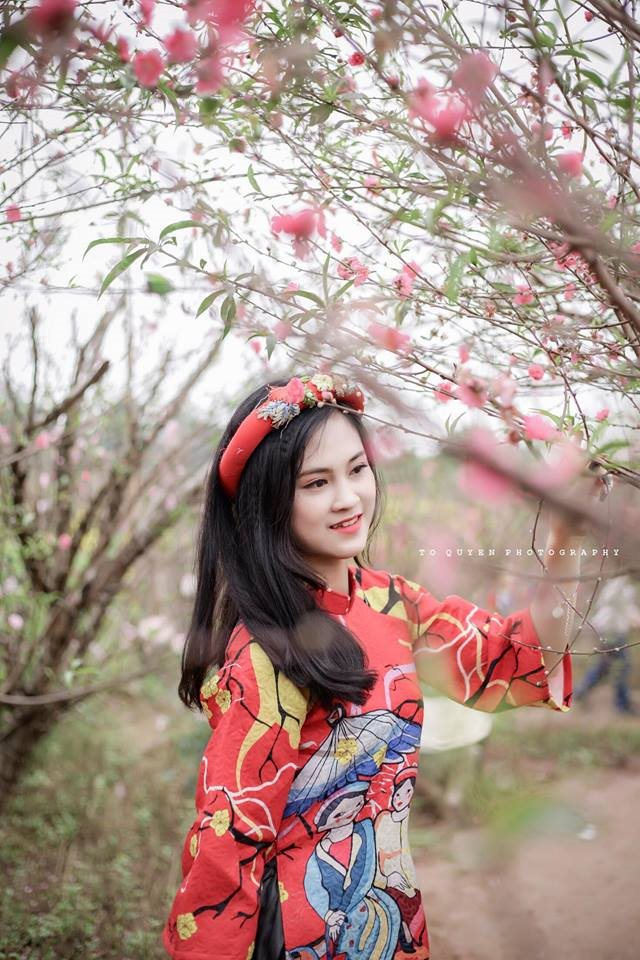 Vẻ đẹp gây thương nhớ của cô nàng 2k Phú Thọ lọt top hotgirl Thế giới - Hình 3