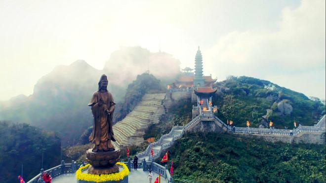 Dáng chùa Việt uy nghiêm trên đỉnh Đông Dương - Hình 8