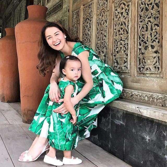 Học lỏm mỹ nhân đẹp nhất Philippines diện đồ mẹ con ngày Tết cực đẹp - Hình 12
