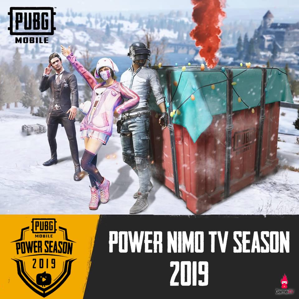 Power Season Nimo TV - sân chơi không thể bỏ qua dành cho game thủ pubg mobile - Hình 1