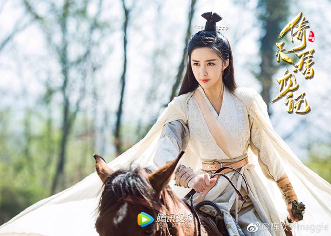 Nhan sắc kiều diễm của mẹ Trương Vô Kỵ trong Ỷ Thiên Đồ Long ký 2019 - Hình 10