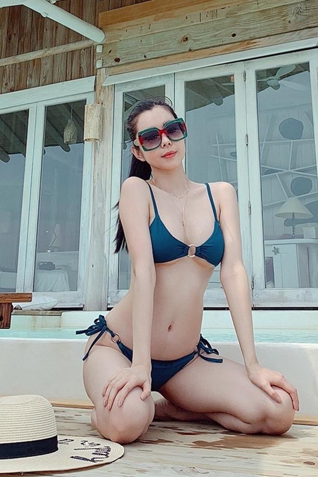 Chưa tới hè, loạt mỹ nữ Việt đã diện bikini khoe đường cong hút mắt - Hình 6