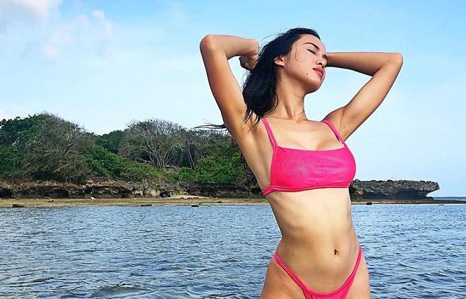 Đây chắc chắn là cô gái mặc đồ bơi hổ báo bốc lửa nhất showbiz Việt! - Hình 6