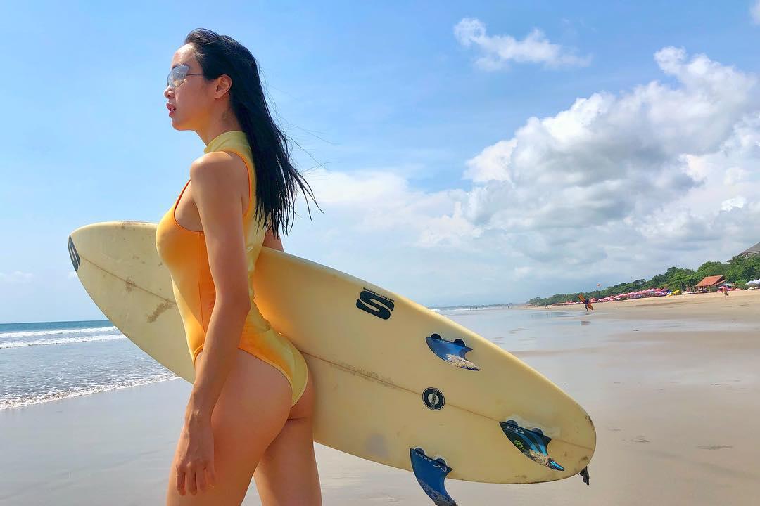 Đây chắc chắn là cô gái mặc đồ bơi hổ báo bốc lửa nhất showbiz Việt! - Hình 8