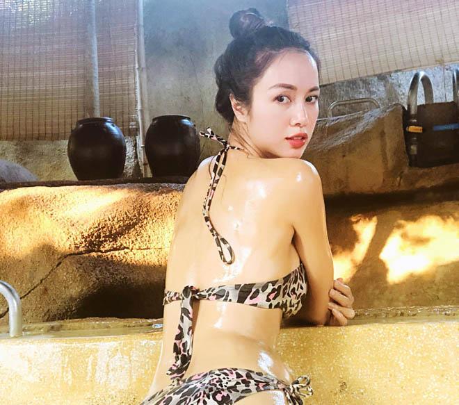 Đây chắc chắn là cô gái mặc đồ bơi hổ báo bốc lửa nhất showbiz Việt! - Hình 2