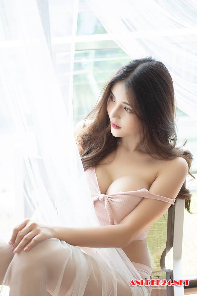 Ngất ngây trước vẻ đẹp quyến rũ của người đẹp Chanakan Lokkhamlue - Hình 15