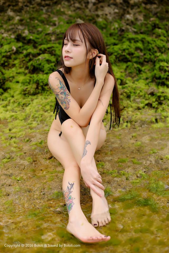 Nóng mắt với bộ ảnh đồ tắm quá chật của thiên thần Xia Mei Jiang - Hình 15
