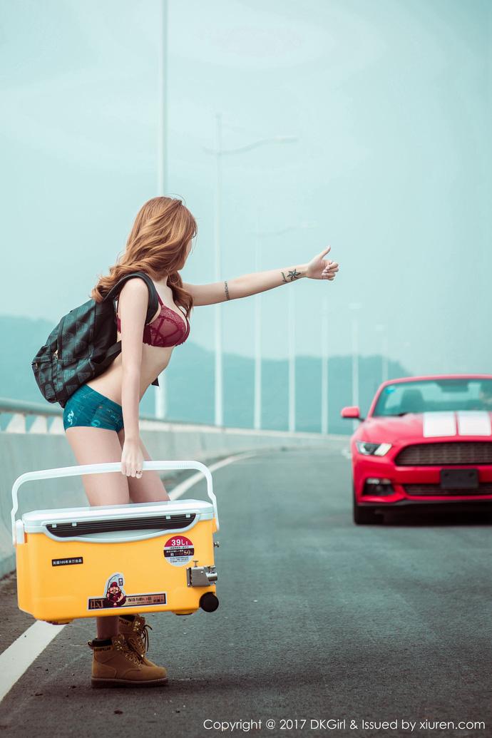 Thư giãn ngày cuối tuần với gái xinh thả dáng bắt mắt trên xa lộ - Hình 4