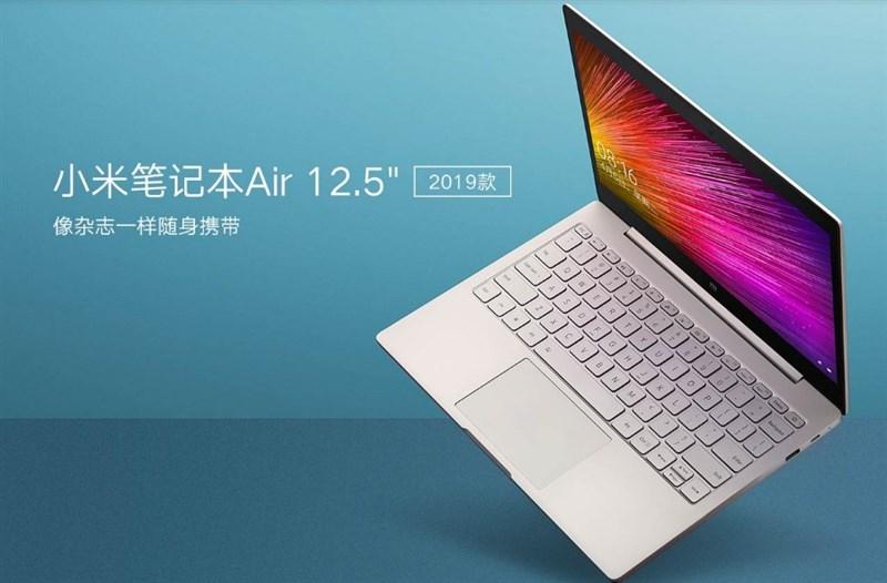 Xiaomi Mi Notebook Air 12.5 (2019) ra mắt: CPU Intel thế hệ 8, SSD 256 GB - Hình 1
