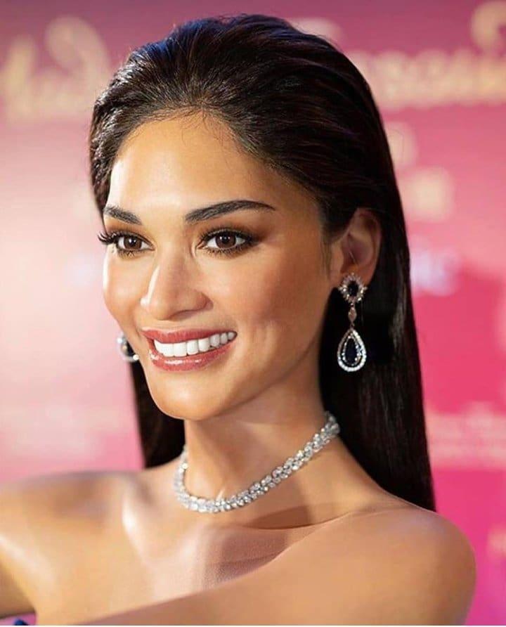 Tượng sáp của Hoa hậu Hoàn vũ khiến CĐM xoắn não vì không biết đâu là thật, đâu là giả - Hình 6