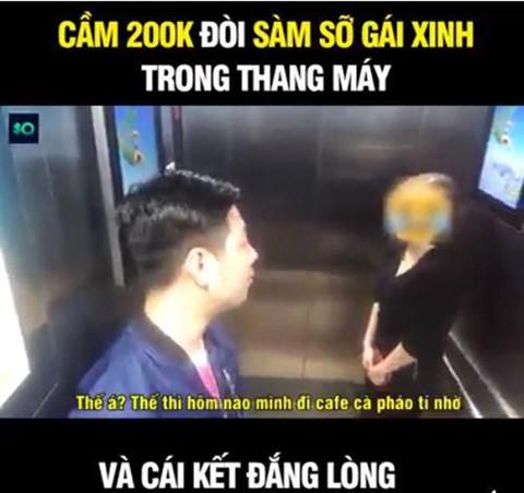 Chế ảnh ăn theo vụ sàm sỡ trong thang máy: Chuyện vui lắm hay sao? - Hình 5