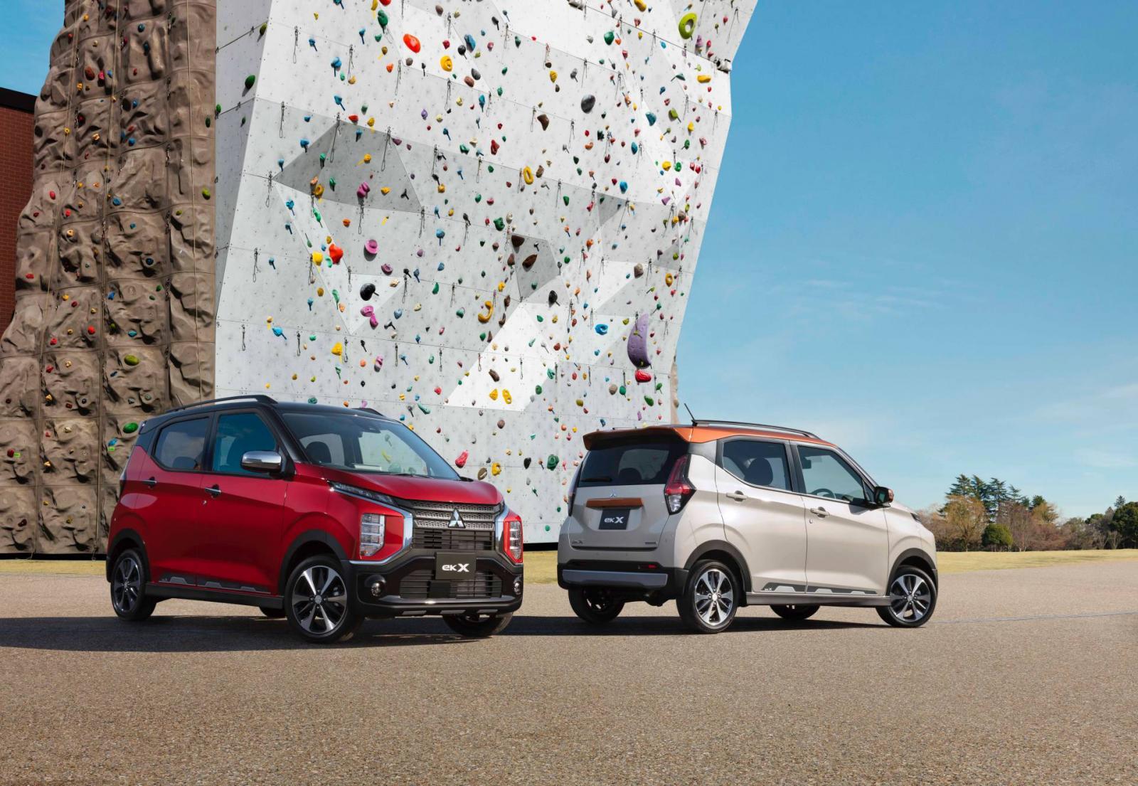 Tiểu Xpander Mitsubishi eK X 2019 trình làng với giá rẻ như bèo - Hình 1