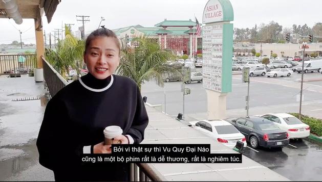 Chơi đẹp như Ngô Thanh Vân, kêu gọi fan đi coi Vu Quy Đại Náo - Hình 1