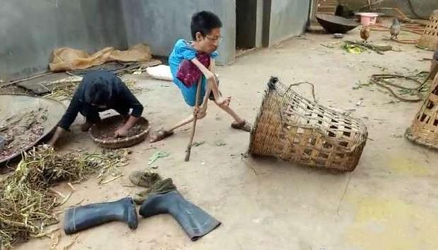 Sinh ra tay chân đã không hoàn hảo, người đàn ông vẫn chứng minh: Cuộc đời dù có tàn cũng không được phế - Hình 2