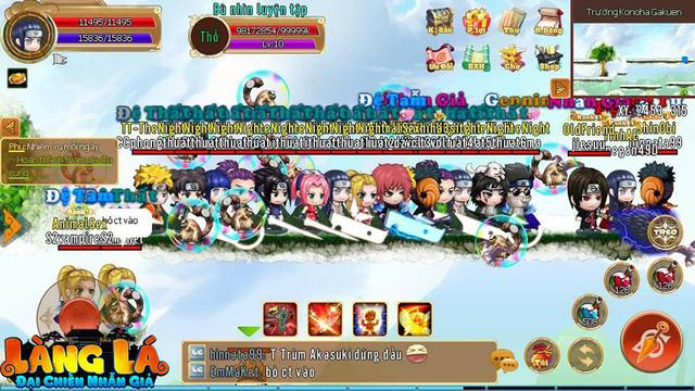 Làng Lá Phiêu Lưu Ký, tựa game Việt lấy đề tài Naruto được giới game thủ vô cùng tự hào đem khoe với cả thế giới - Hình 1
