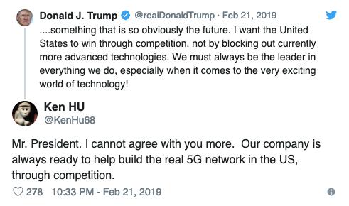 Cuộc chiến Mỹ Huawei ở MWC 2019 - Thế giới