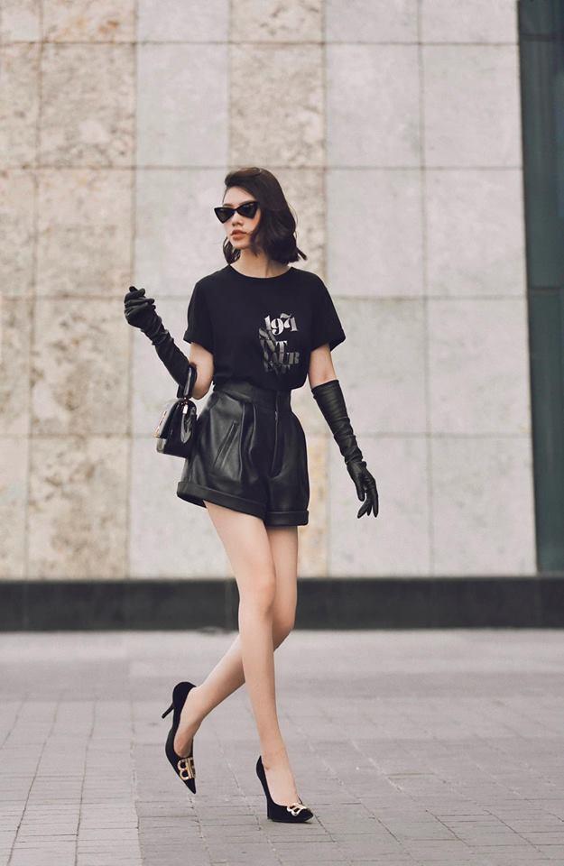 Hà Hồ phô trương ngực trần, Quỳnh Anh Shyn phải mượn áo để 'chinh chiến' street style với dàn sao quốc tế tại Paris - Hình 19